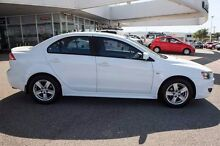 2007 Mitsubishi Lancer CJ MY08 VR White 6 Speed Constant Variable Sedan Osborne Park Stirling Area Preview