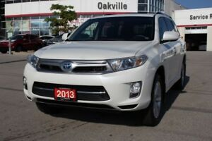 2013 Toyota Highlander Hybrid Limited w/Navigation, Leather & Mo