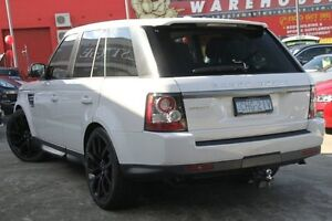 2012 Land Rover Range Rover MY12 Sport 3.0 SDV6 White 6 Speed Automatic Wagon Petersham Marrickville Area Preview