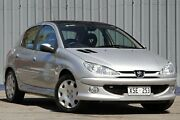 2005 Peugeot 206 T1 MY04 C Aluminium Silver 5 Speed Manual Hatchback Blair Athol Port Adelaide Area Preview