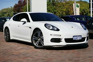 2014 Porsche Panamera 970 MY14 Diesel Tiptronic White 8 Speed Sports Automatic Sedan Osborne Park Stirling Area Preview