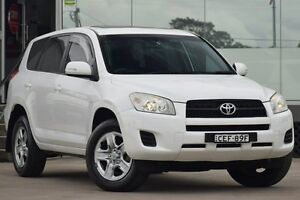 2010 Toyota RAV4 ACA33R 08 Upgrade CV (4x4) White 4 Speed Automatic Wagon Old Guildford Fairfield Area Preview
