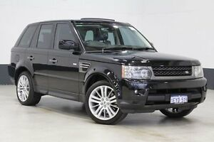 2009 Land Rover Range Rover MY10 Sport 3.0 TDV6 Black 6 Speed Automatic Wagon Bentley Canning Area Preview