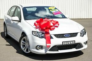 2010 Ford Falcon FG XR6 White 6 Speed Sports Automatic Sedan Kings Park Blacktown Area Preview