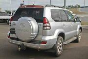 2005 Toyota Landcruiser Prado GRJ120R VX Silver 5 Speed Automatic Wagon Gympie Gympie Area Preview