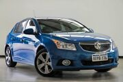 2014 Holden Cruze JH Series II MY14 Equipe Blue 5 Speed Manual Hatchback Myaree Melville Area Preview