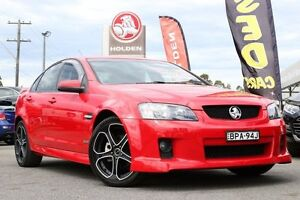 2010 Holden Commodore VE MY10 SV6 Red 6 Speed Sports Automatic Sedan Liverpool Liverpool Area Preview