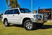 2003 Nissan Patrol GU III ST-L (4x4) White 4 Speed Automatic Wagon Rockingham Rockingham Area Preview