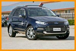2012 Ford Territory SZ Titanium Seq Sport Shift AWD Blue 6 Speed Sports Automatic Wagon Hillcrest Logan Area Preview