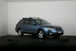 2004 Subaru Outback MY04 2.5I Blue 4 Speed Auto Elec Sportshift Wagon