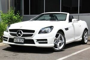 2015 Mercedes-Benz SLK200 R172 805MY 7G-Tronic + White 7 Speed Sports Automatic Roadster Hilton West Torrens Area Preview