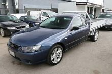 2008 Ford Falcon BF Mk II XLS Super Cab Blue 4 Speed Sports Automatic Cab Chassis Heatherton Kingston Area Preview