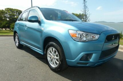 2011 Mitsubishi ASX XA MY11 2WD Blue 5 Speed Manual Wagon South Gladstone Gladstone City Preview