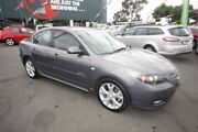 2007 Mazda 3 BK1032 SP23 Grey 5 Speed Sports Automatic Sedan Kingsville Maribyrnong Area Preview