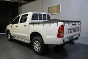 2011 Toyota Hilux KUN26R MY11 Upgrade SR (4x4) White 5 Speed Manual Dual Cab Pick-up Woodridge Logan Area Preview