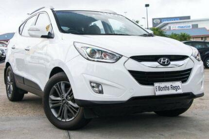 2014 Hyundai ix35 LM3 MY14 Elite AWD White 6 Speed Sports Automatic Wagon Hillcrest Logan Area Preview