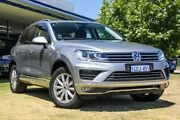 2015 Volkswagen Touareg 7P MY15 150TDI Tiptronic 4MOTION Silver 8 Speed Sports Automatic Wagon Victoria Park Victoria Park Area Preview
