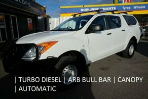 2012 Mazda BT-50 UP0YF1 XT 4x2 Hi-Rider Cool White 6 Speed Sports Automatic Utility Dandenong Greater Dandenong Preview