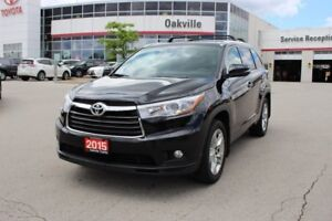 2015 Toyota Highlander Limited w/ Navigation, Panoramic Moonroof