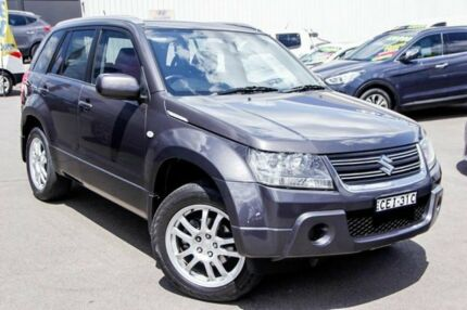 2011 Suzuki Grand Vitara JB MY09 Sport Grey 4 Speed Automatic Wagon