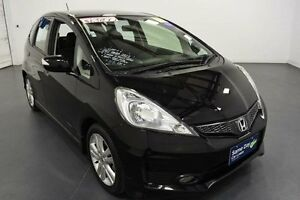 2012 Honda Jazz GE MY12 Vibe-S Black 5 Speed Automatic Hatchback Moorabbin Kingston Area Preview