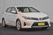 2013 Toyota Corolla ZRE182R Ascent S-CVT White 7 Speed Constant Variable Hatchback Hendra Brisbane North East Preview