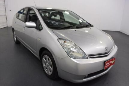 2008 Toyota Prius NHW20R MY06 Upgrade I-Tech Hybrid Silver Continuous Variable Hatchback