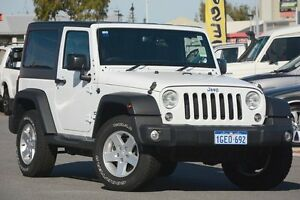 2016 Jeep Wrangler JK MY2016 Sport Hard & Soft Top/ 5 Speed Automatic Softtop Mindarie Wanneroo Area Preview