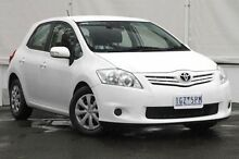2011 Toyota Corolla ZRE152R MY11 Ascent White 4 Speed Automatic Hatchback Upper Ferntree Gully Knox Area Preview
