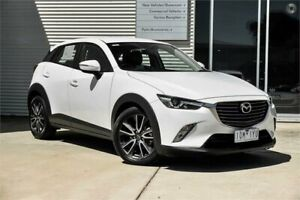 2015 Mazda CX-3 DK4W7A sTouring SKYACTIV-Drive i-ACTIV AWD White 6 Speed Sports Automatic Wagon Mitchell Park Ballarat City Preview