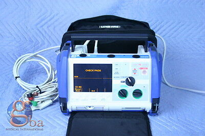 Zoll M Series Patient Monitor Biphasic 3-lead Pacing Printer Case Pads New Batt