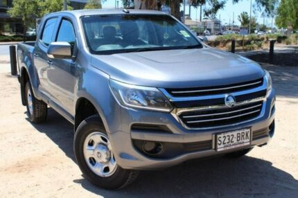 2016 Holden Colorado RG MY17 LS Pickup Crew Cab 4x2 Grey 6 Speed Sports Automatic Utility Thebarton West Torrens Area Preview