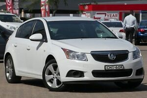2012 Holden Cruze JH MY12 CD White 6 Speed Automatic Hatchback Zetland Inner Sydney Preview