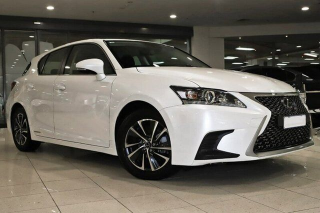 2017 Lexus Ct200h Zwa10r My16 Luxury Sonic Quartz 1 Sd Constant Variable Hatchback Hybrid