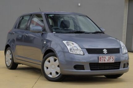 2006 Suzuki Swift RS415 Grey 5 Speed Manual Hatchback Yeerongpilly Brisbane South West Preview