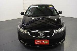 2012 Kia Cerato TD MY12 SLi Black 6 Speed Automatic Hatchback Moorabbin Kingston Area Preview