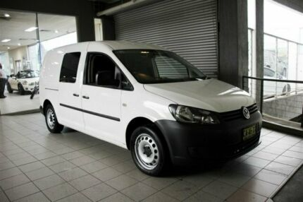 2015 Volkswagen Caddy 2K MY15 Maxi TDI250 Candy White 7 Speed Auto Direct Shift Van Thornleigh Hornsby Area Preview