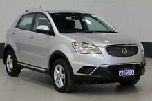 2011 Ssangyong Korando C200 SX Silver 6 Speed Automatic Wagon Bentley Canning Area Preview