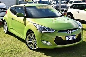 2012 Hyundai Veloster FS Coupe Green 6 Speed Manual Hatchback Myaree Melville Area Preview