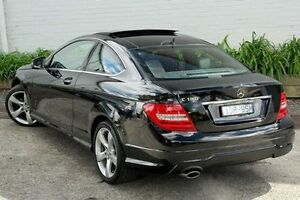 2014 Mercedes-Benz C180 Black Sports Automatic Coupe Burwood Whitehorse Area Preview