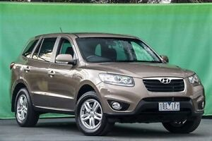 2010 Hyundai Santa Fe CM MY10 SLX Brown 6 Speed Sports Automatic Wagon Ringwood East Maroondah Area Preview