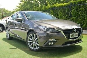 2014 Mazda 3 BM5238 SP25 SKYACTIV-Drive GT Bronze 6 Speed Sports Automatic Sedan Paradise Campbelltown Area Preview