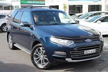 2011 Ford Territory SZ Titanium Seq Sport Shift AWD Blue 6 Speed Sports Automatic Wagon Brookvale Manly Area Preview
