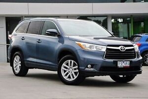 2015 Toyota Kluger GSU50R GX 2WD Blue 6 Speed Sports Automatic Wagon Nunawading Whitehorse Area Preview