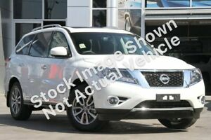 2015 Nissan Pathfinder R52 MY15 ST-L X-tronic 4WD White 1 Speed Constant Variable Wagon Cranbourne Casey Area Preview