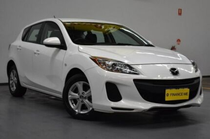 2013 Mazda 3 BL10F2 MY13 Neo Activematic Crystal White 5 Speed Sports Automatic Hatchback Brooklyn Brimbank Area Preview