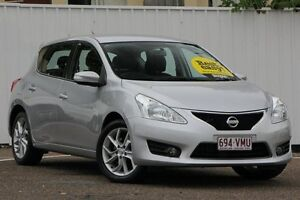 2013 Nissan Pulsar C12 ST-S Silver 1 Speed Constant Variable Hatchback Chermside Brisbane North East Preview