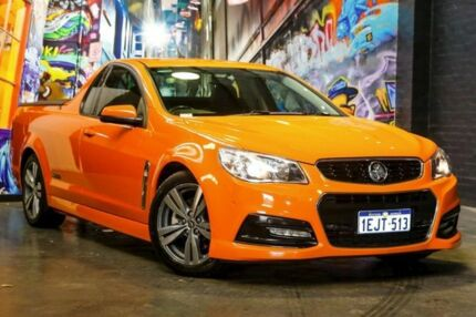 2013 Holden Ute VF MY14 SS Ute Orange 6 Speed Sports Automatic Utility