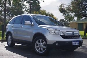 2007 Honda CR-V RE MY2007 4WD Silver 5 Speed Automatic Wagon Myaree Melville Area Preview