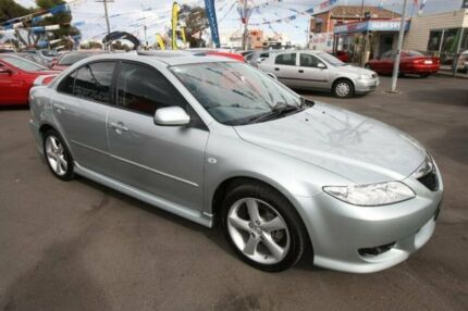 2004 Mazda 6 GG1031 MY04 Luxury Sports Silver 5 Speed Manual Hatchback Kingsville Maribyrnong Area Preview